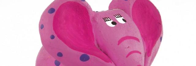 Dankzij slimme hersenen denken we aan een roze olifant.