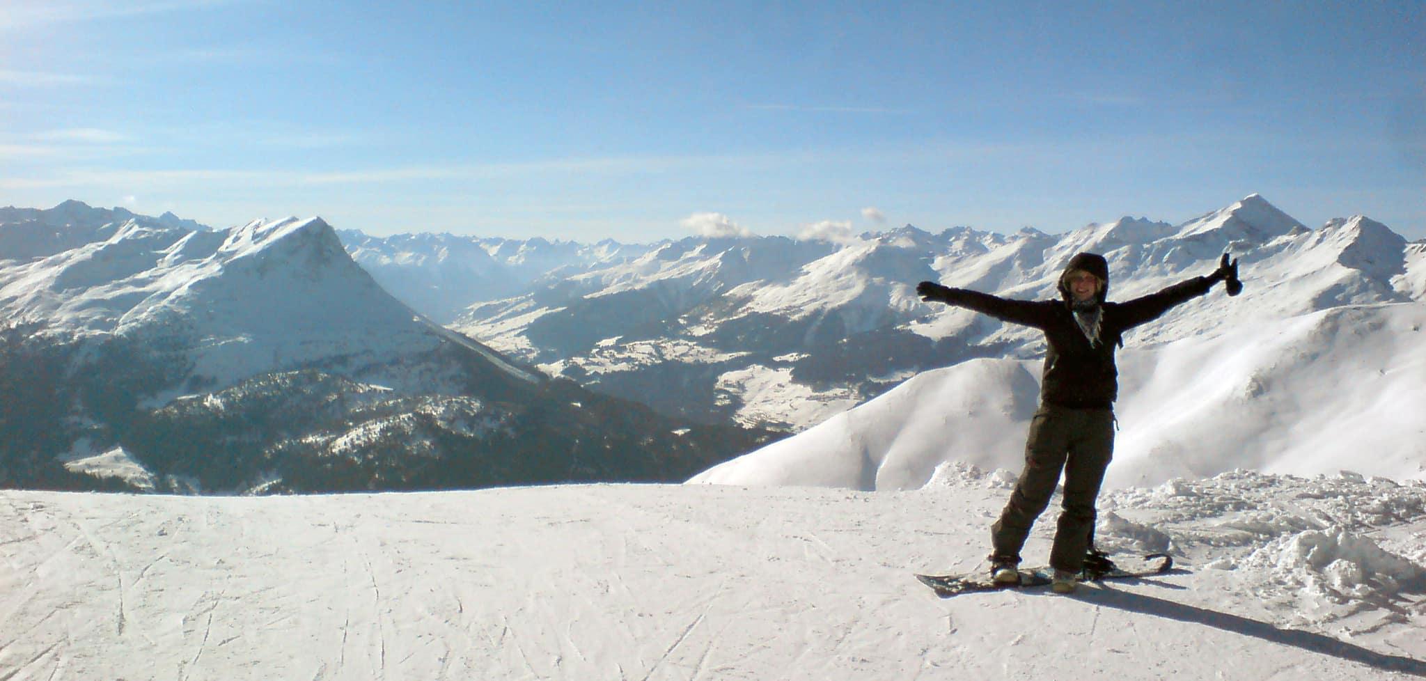 Hoera, ik hou van snowboarden!