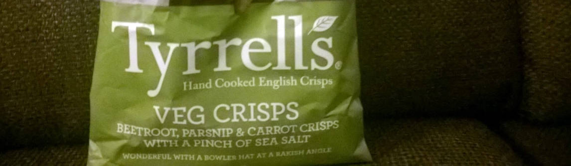 Chips zonder aardappels.