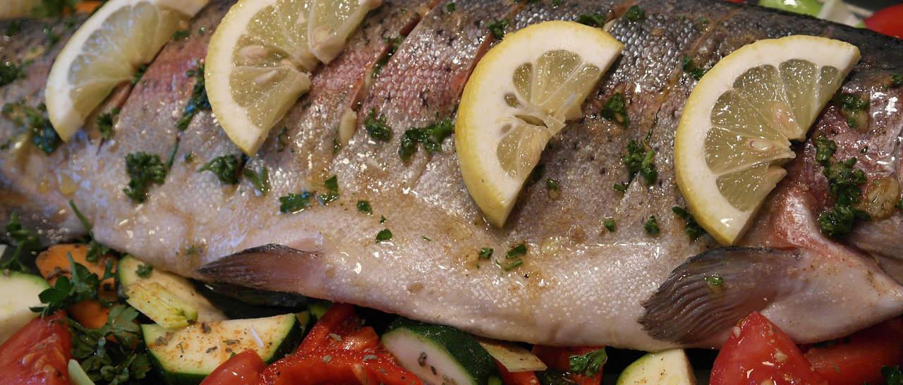 Vette vis: als je geen vegetariër bent, kun je hier lekker veel van eten.