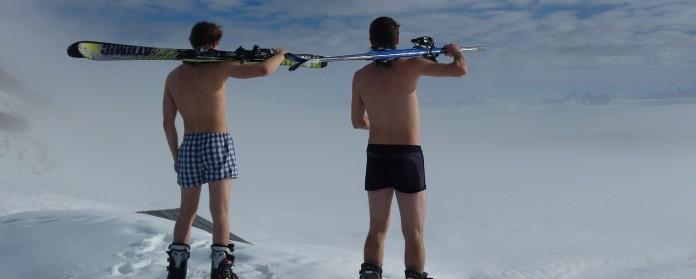 Met plezier bewegen betekent soms ook dat je zelfs in de zomer wilt wintersporten - als dat je sport naar keuze is, natuurlijk.