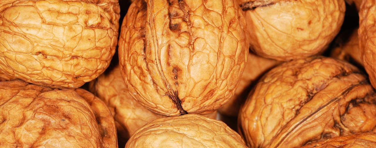 Ook lekker vet: walnoten.