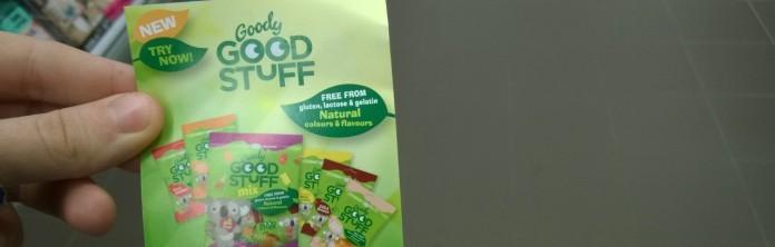 Geen gluten, lactose of gelatine. Helaas ook geen voedingswaarde. Al is het de vraag of dat per se moet bij snoep.