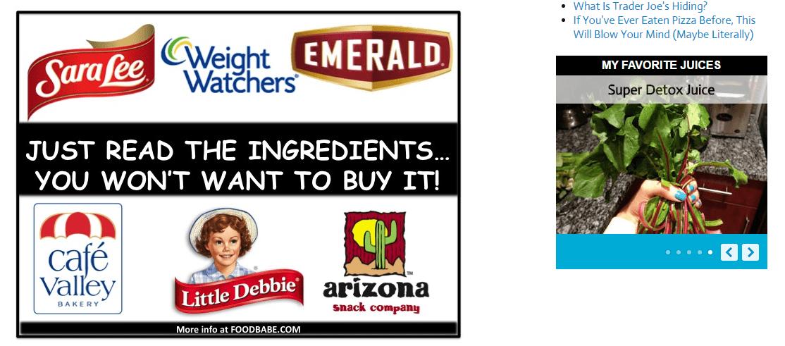 Amerikanen klikken gelijk, want HELP, wat voor troep zit er in hun favoriete merken?