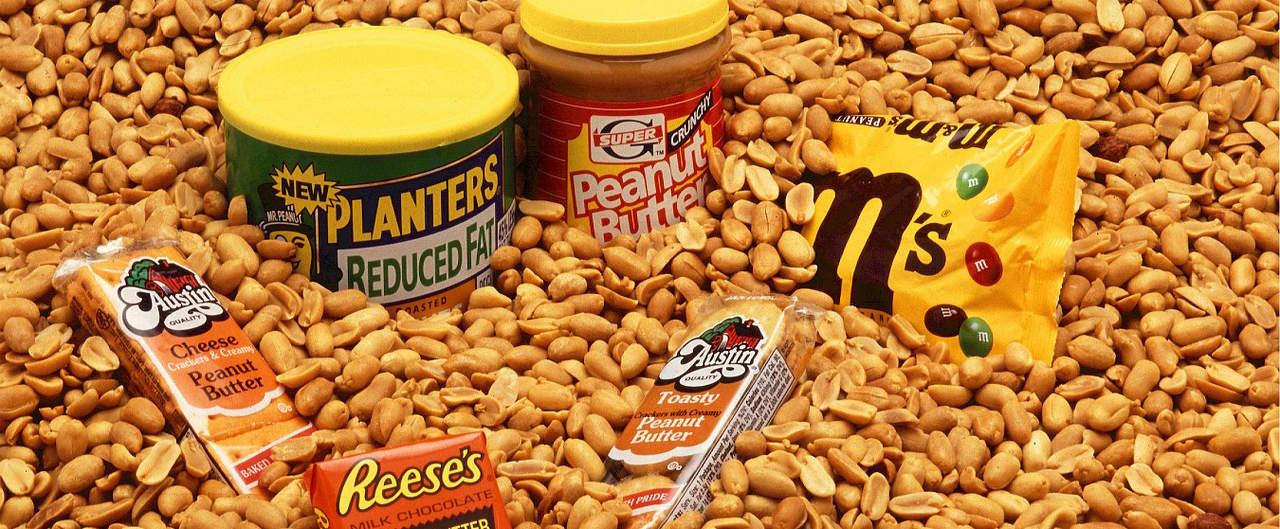 Deze pindakaasvarianten zijn echt bedoeld als snack. Je bent beter af met echte pindakaas (of zelfs met een handjevol pinda's).