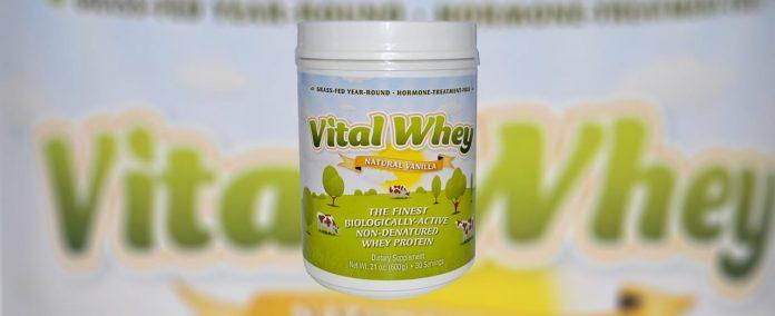Ik testte Vital whey vanille.
