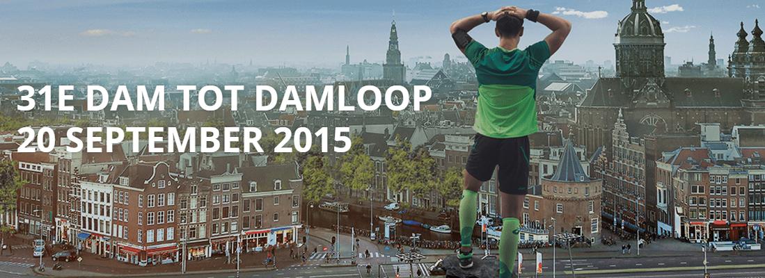 De Dam tot Damloop 2015 was op zondag 20 september.