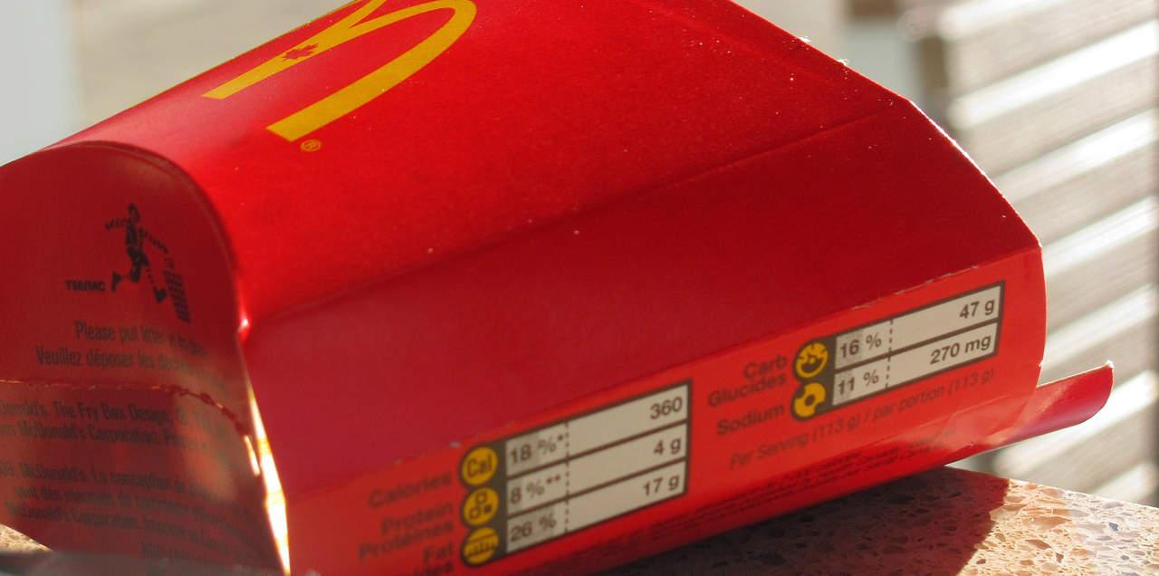 Een McDonald's-dieet is niet per se dikmakend, mits je de juiste keuzes maakt.