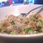 [recept] Koriander & kalkoen met rijst