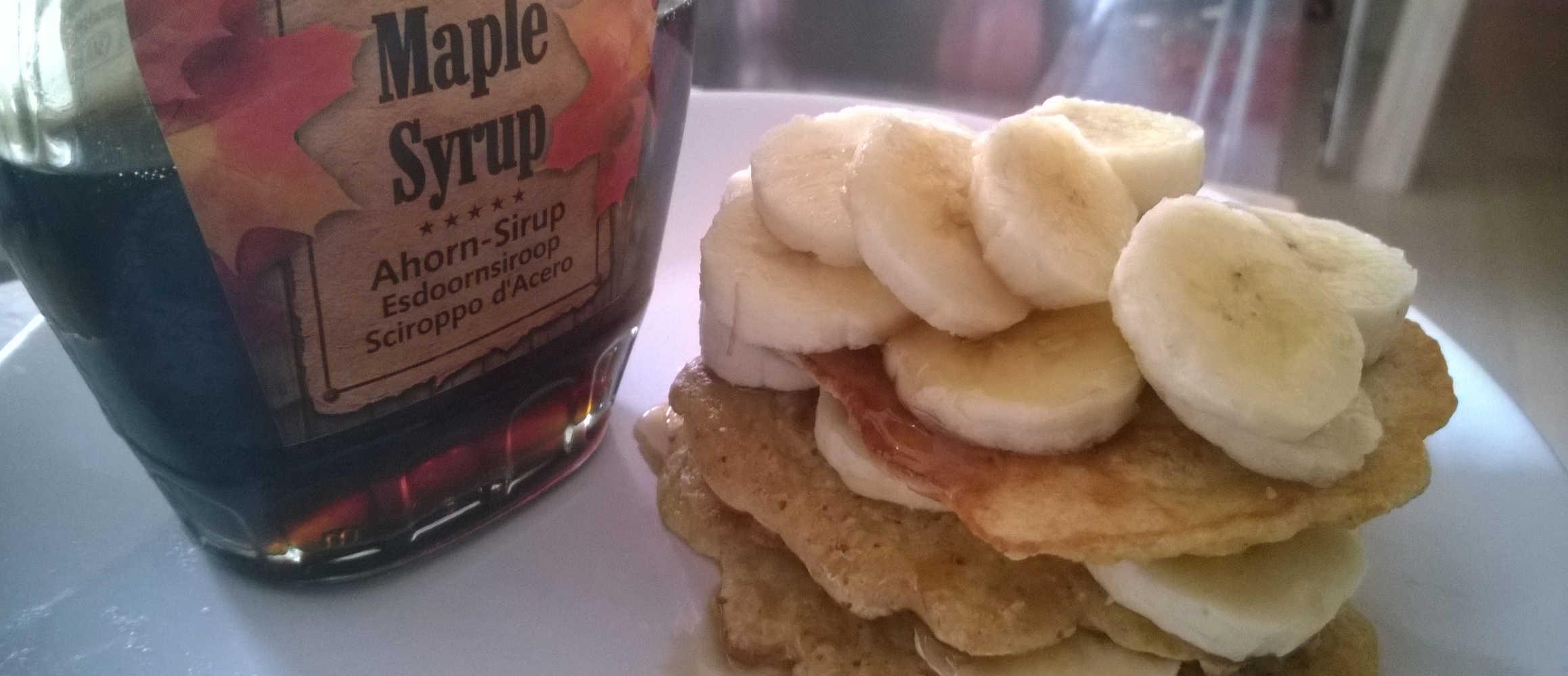 Lekker, dit recept American pancakes met banaan!