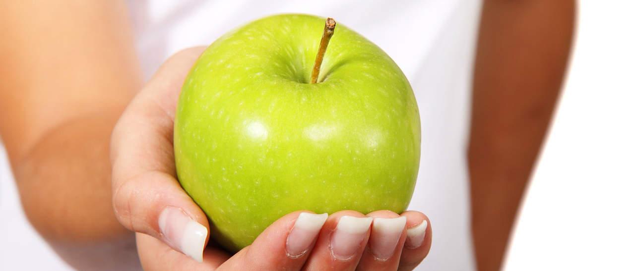 Wat weegt een gemiddelde appel?