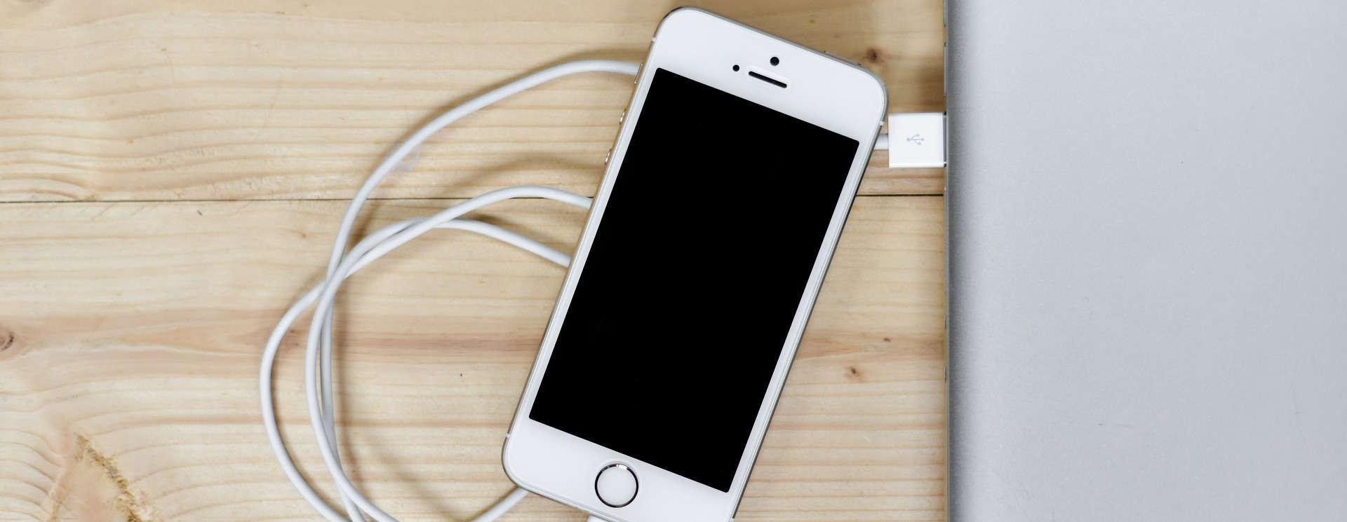 De spaarstand bestaat alleen op je telefoon als de batterij bijna leeg is.