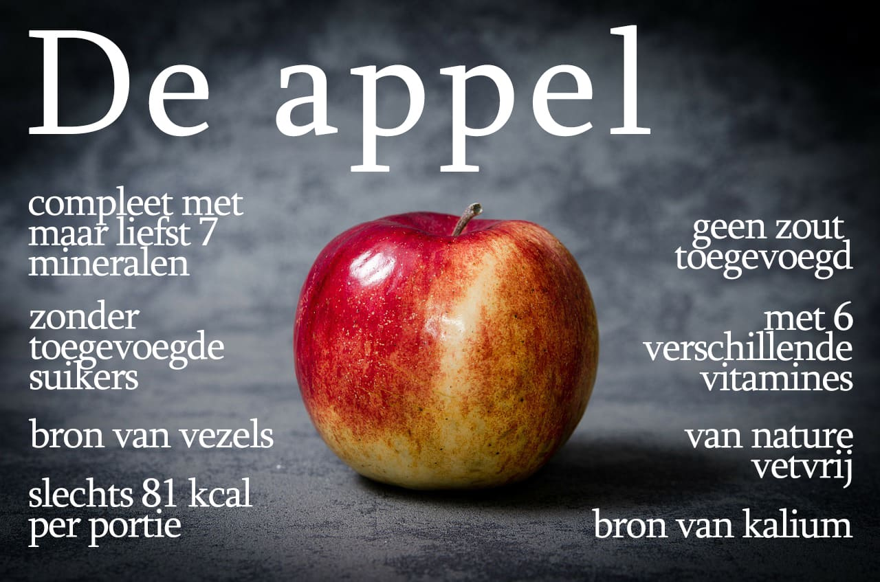 Blijft een toffe peer, die appel.