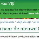 Nieuwe richtlijnen Voedingcentrum 2015