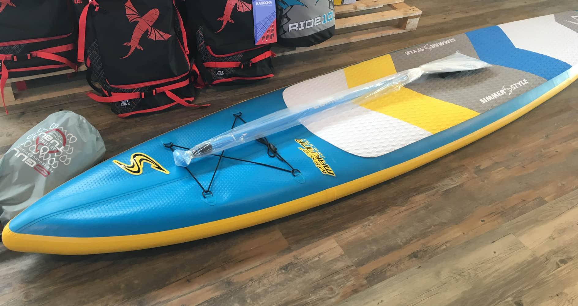 Mijn eerste stap naar een SUP-zomer: een SUP-board kopen.
