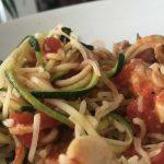 [recept] Courgettepasta met kip